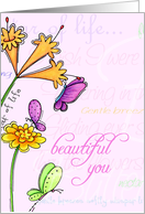 Beautiful You - Happy Mother's Day card