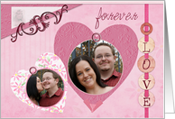 Loves Scrapbook Valentine's Photo Card