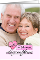I Love You Always and Forever Valentine's Day Card