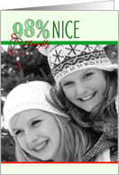 98% Nice Photo Insert Christmas Card