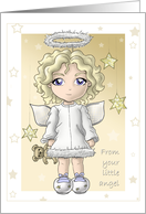Little Tykes - Christmas Angel card