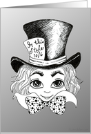 The Mad Hatter from Alice Through the Looking Glass #2 card