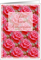 Sur Votre Anniversaire Birthday Wishes in French card