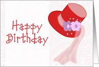 Red Hat - Happy Birthday card