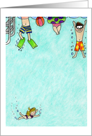 Pool Party-Kids Card
