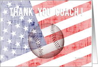 Thank you coach ! - baseball card
