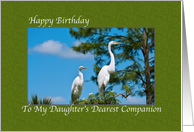 Birthday Card for Daughter's Companion card