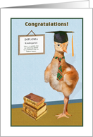 Congratulations on Kindergarten Graduation card