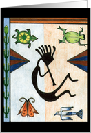 Kokopelli card