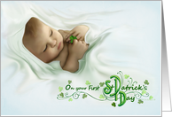 A Wee Bit of Luck - Babies First - St. Patrick's Day card