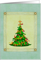 The Meaty Christmas Tree card