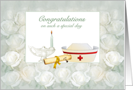 Nurse Graduation/Pinning Ceremony card