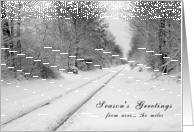 Season's Greetings from Across the Miles card