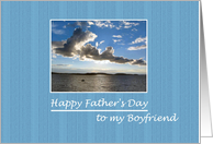 Happy Father's Day to my Boyfriend card