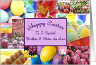 Happy Easter Special Brother And Sister In Law card