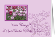 For Brother And Sister In Law Blessing Easter Card