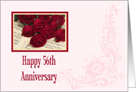 56th Anniversary Card