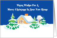 Christmas In Your New House card