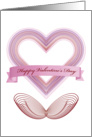 Valentine's Day Genuine Hearts card