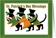 3 Cats: St. Patricks Day card