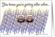 Getting Older 85 card