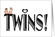 Expecting Twins card