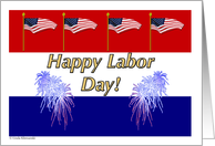 Labor Day card