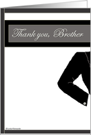 Wedding Thank You Brother card