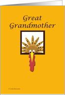 Turkey Great Grandmother card