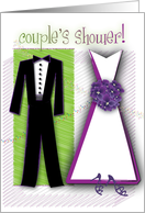 couple's shower card