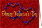 Entwined Hearts Valentine card