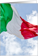 you're invited card with italian flag card