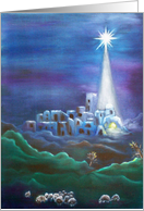 Oh, Little Town of Bethlehem, First Christmas under the Star card