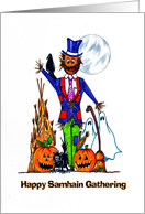 Samhain ~ Hallowe'en, All Hallows Eve, Shadowfest, Feast of the Dead ~ Oct 31st card