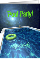 Pool Party By Moonlight card
