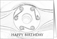 Happy Birthday - Pilot card