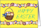Happy Easter Basket card