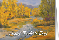 Happy Father's Day - 'Goodbye Summer, Hello fall' card