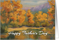 Happy Father's Day - 'Quiet Backwater' card