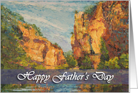 Happy Father's Day - 'Tarn Gorges' card