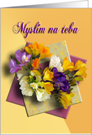 Slovak Thinking of you card