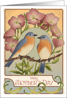 Bluebirds - Mother's Day card
