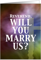 Marry Us - Reverend card