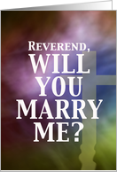 Marry Me - Reverend card