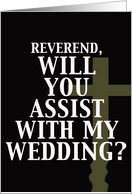 Marry Me (Assist) - Pastor card