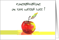 congratulations on your weight loss card