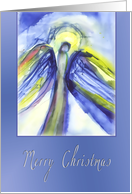 merry christmas card, angel card