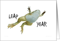 Leap year - Let's make it a hoppy one card