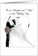 Wedding Wishes to Daughter and card