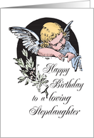 Birthday to a Loving stepdaughter card